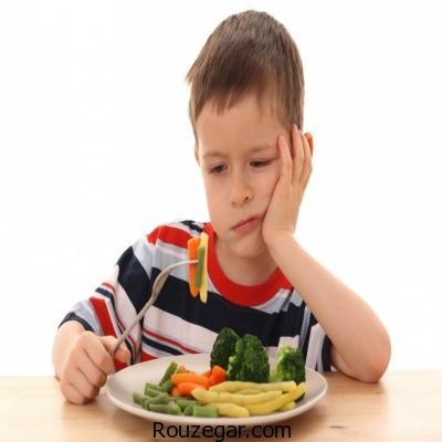 دلایل غذا نخوردن کودکان و راه های حل آن