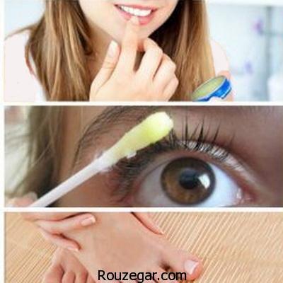 کاربردهای وازلین برای زیبایی