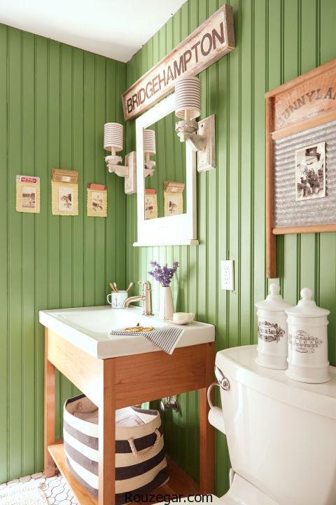 چیدمان در حمام و دستشویی   مدل حمام و دستشویی در منزل  حمام سبک اروپایی   دکوراسیون حمام اروپایی
