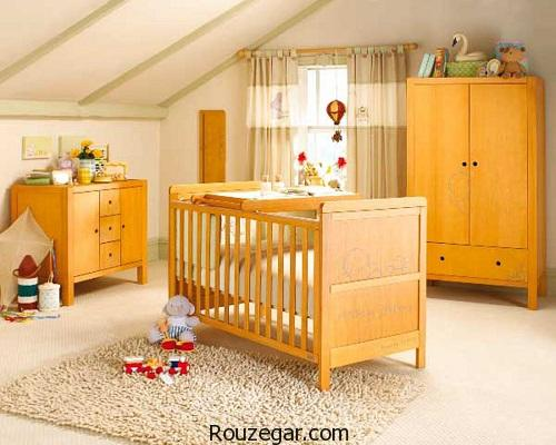 مجموعه جدیدترین و شیک ترین مدل تخت و کمد نوزاد   عکس مدل سیسمونی و سرویس خواب