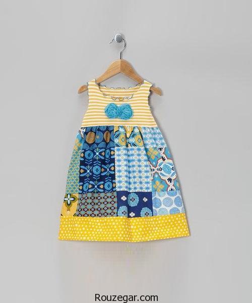 شیک ترین مدل پیراهن دخترانه بچه گانهتابستانی2017، 1396