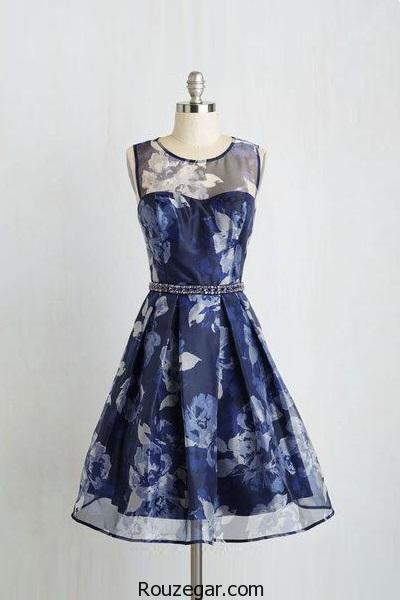 کالکشن مدل لباس مجلسی کوتاه شیک و جدید 2017، 1396