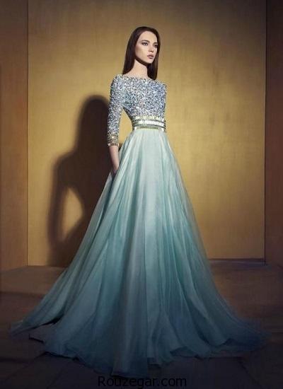 کالکشن زیباترین مدل پیراهن مجلسی بلند2017، 1396