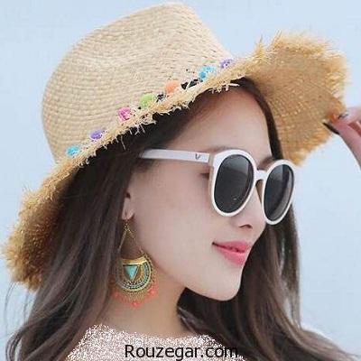 مجموعه شیک ترین مدل کلاه دخترانه تابستانی 2017، 1396