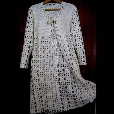 ژورنال شیک ترین لباس های قلاب بافی (سری دوم)