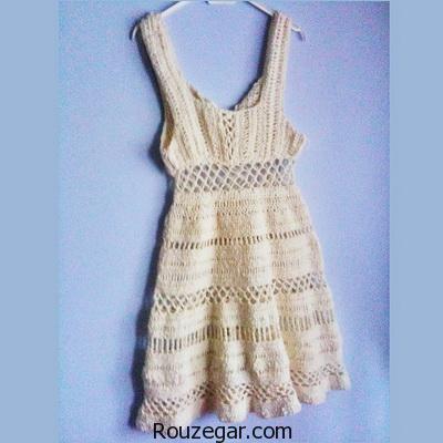 ژورنال شیک ترین لباس های قلاب بافی (سری اول)