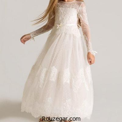 شیک ترین و جدیدترین مدل لباس عروس بچگانه (سری سوم)