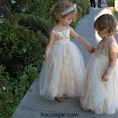 شیک ترین و جدیدترین مدل لباس عروس بچگانه (سری اول)