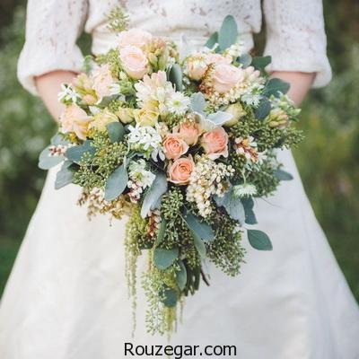 جدیدترین مدل دسته گل عروس 2017