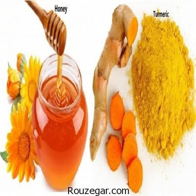 ماسک زردچوبه و عسل,فواید ماسک زردچوبه و عسل,خواص ماسک زردچوبه و عسل,طرز تهیه ماسک زردچوبه و عسل,ماسک زردچوبه و عسل و ماست,ماسک زردچوبه و عسل و شیر,ماسک صورت
