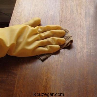 روشهایی برای پاک کردن لاک روی وسایل