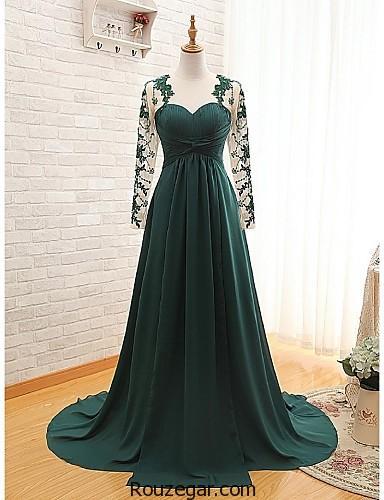 خرید لباس نامزدی پوشیده ، لباس نامزدی پوشیده 2018