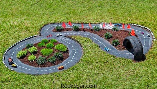 دکوراسیون فضای حیاط، دکوراسیون فضای باغچه، دکوراسیون فضای ویلا