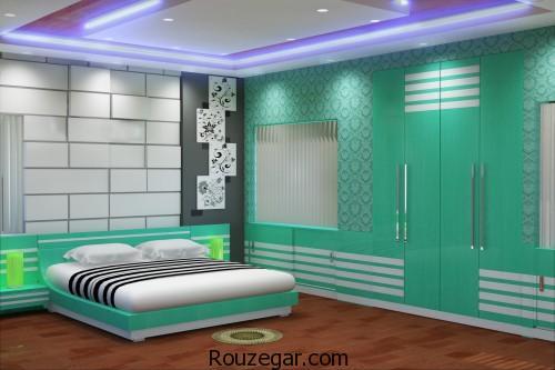 اتاق خواب مستر، دکوراسیون اتاق خواب مستر، اتاق خواب مستر 2018