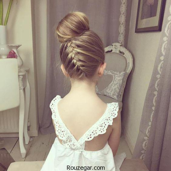 مدل مو عروس بچگانه ، مدل مو عروس بچگانه 2018، مدل مو عروس