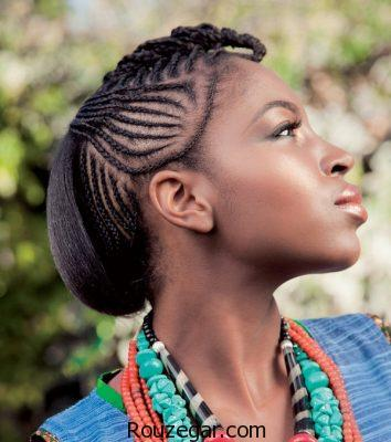 مدل بافت مودخترانه، مدل بافت مودخترانه 2018، مدل بافت مو آفریقایی