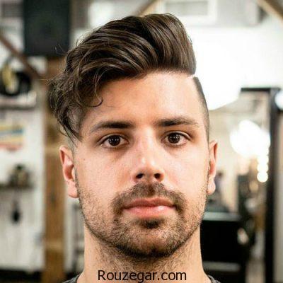 مدل مو مردانه برای صورت گرد، مدل مو مردانه ، مدل مو مردانه برای صورت گرد 2018