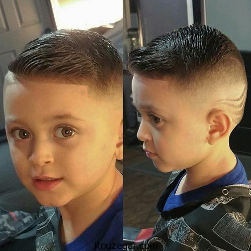 مدل مو کوتاه بچه گانه پسرانه،مدل مو کوتاه بچه گانه پسرانه 2018