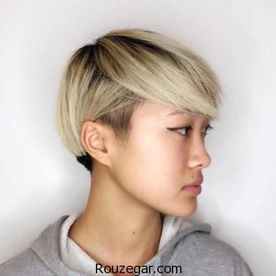 مدل مو کوتاه دخترانه، مدل مو کوتاه دخترانه 97، مدل مو کوتاه