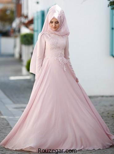 انتخاب رنگ صورتی برای لباس