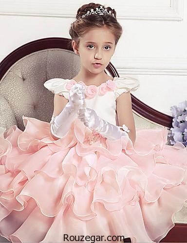 لباس مجلسی دخترانه بچه گانه، لباس مجلسی دخترانه بچه گانه 2018، لباس مجلسی بچه گانه