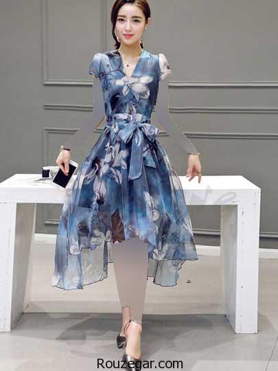 لباس مجلسی دخترانه کره ای