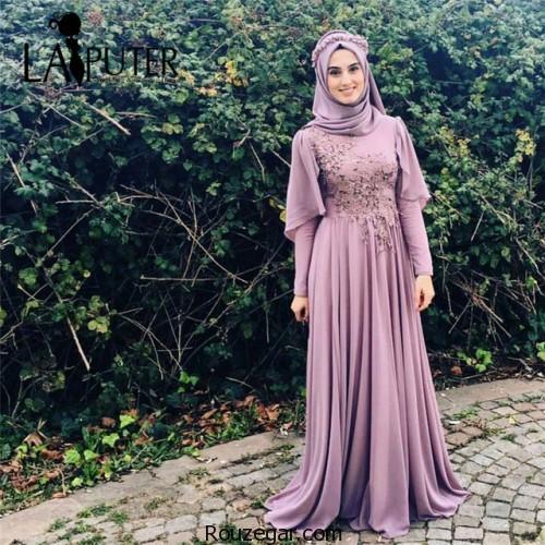 لباس مجلسی پوشیده شیک، لباس مجلسی پوشیده شیک 2018