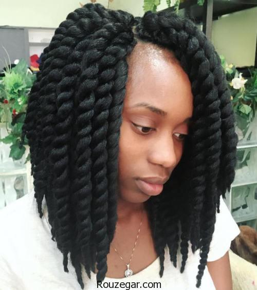 مدل بافت مو آفریقایی، آموزش مدل بافت مو آفریقایی، مدل بافت مو آفریقایی 2018