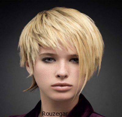 مدل مو کوتاه دخترانه جدید ، مدل مو کوتاه ، مدل مو کوتاه دخترانه 2018، مدل مو کوتاه زنانه