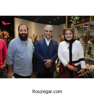 نرگس محمدی و همسرش در اکران فیلم ساعت پنج عصر ,نرگس محمدی