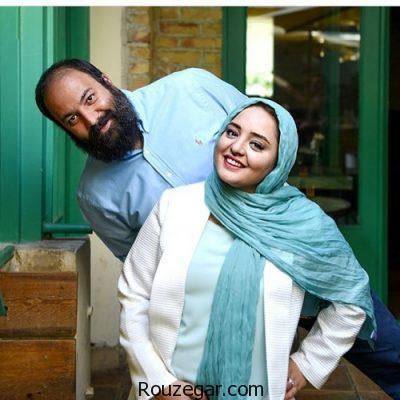 نرگس محمدی و همسرش در اکران فیلم ساعت پنج عصر,نرگس محمدی