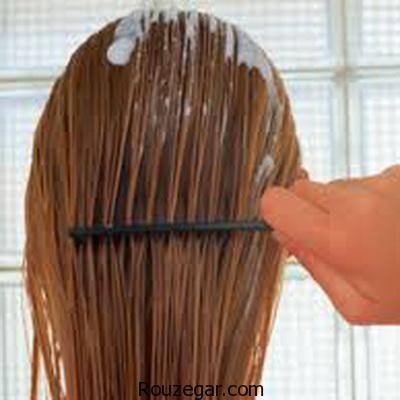 راهکاری فوق العاده برای صاف کردن مو در خانه