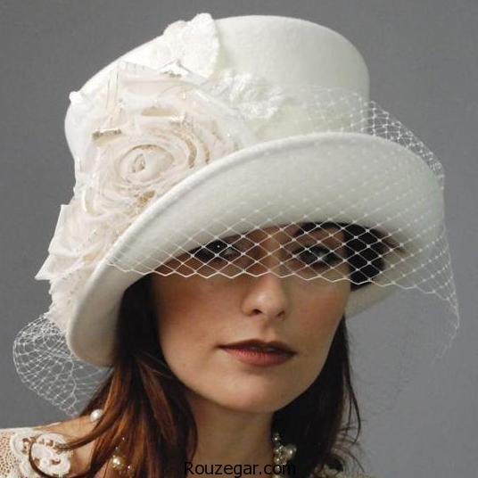 مدل کلاه عروس   گلچینی از شیک ترین و زیباترین مدل کلاه توری و گلدار عروس 96-2017
