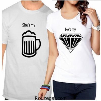 مدل ست تی شرت با همسر