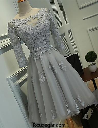لباس مجلسی شب کوتاه،  لباس مجلسی شب کوتاه 2018،  لباس مجلسی کوتاه دخترانه