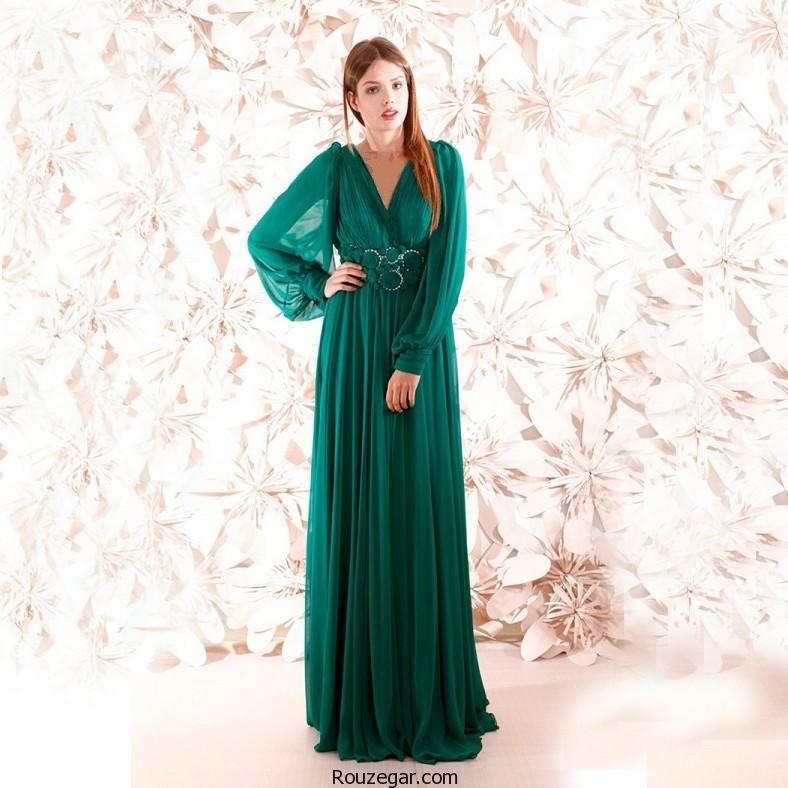 ژورنال شیک ترین لباس شب بلند زنانه96-2017