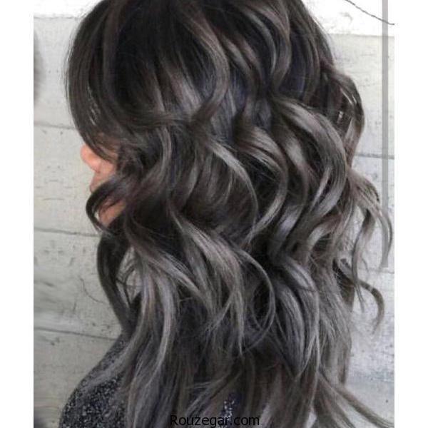 طیف های مختلفرنگ موی خاکستری +فرمول ترکیبی رنگ موی خاکستری