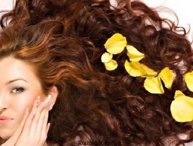 چند راهکار طبیعی و ساده برای داشتن موهایی خوشبو