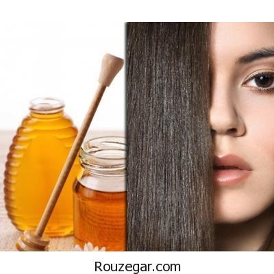 روش استفاده از عسل برای زیبایی موهای شما
