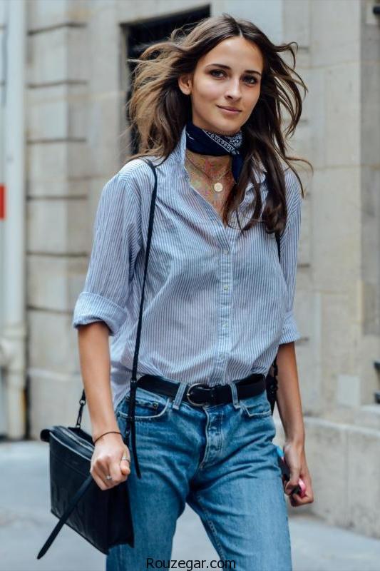 پیشنهاد 20 تیپ متفاوت با دستمال گردن