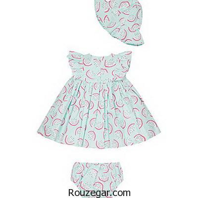 خاص ترین مدل لباس نوزاد دختر 1396