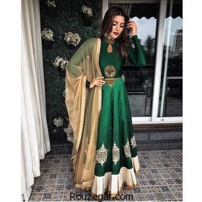 شیک ترین مدل لباس های هندی 2017