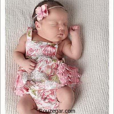 شیک ترین مدل لباس های نوزاد دخترانه ۲۰۱۷-۱۳۹۶