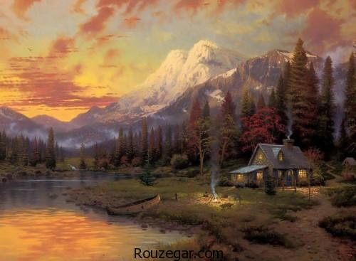 آثارنقاشی  توماس کینکد، نقاشی های توماس کینکد، آثار زیبای توماس کینکد