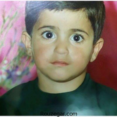 عکس کودکی علی عبدالمالکی خواننده پاپ