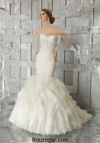 لباس عروس، لباس عروس 2018، لباس عروس اروپایی