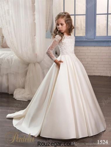 لباس عروس بچه گانه ، لباس عروس بچه گانه دخترانه، لباس عروس بچه گانه 2018