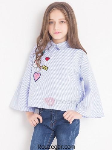 مدل لباس بچه گانه دختر، مدل لباس بچه گانه دختر 2018