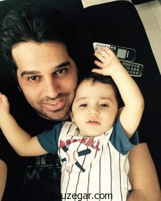 عکس سلفی جذاب حمید عسکری و پسرش کارن