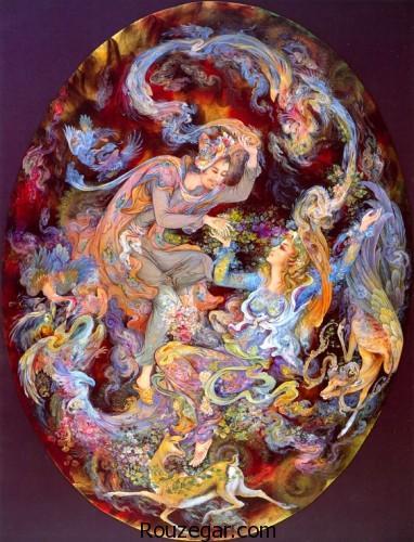 نقاشی مینیاتوری،  نقاشی مینیاتوری ایرانی